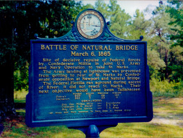 Natural Bridge Battlefield Historic State Park