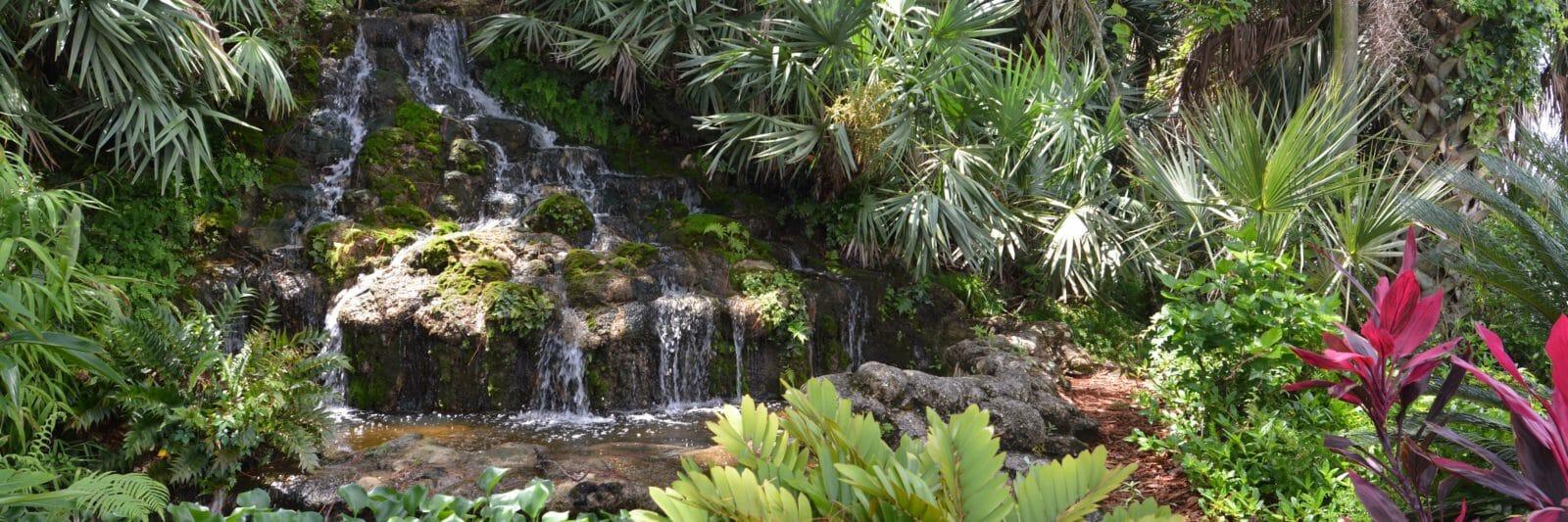 Ormond Memorial Gardens waterfall