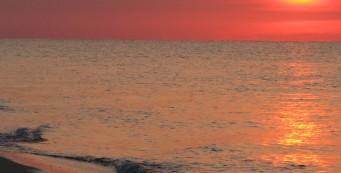 Sunrise on Perdido Key