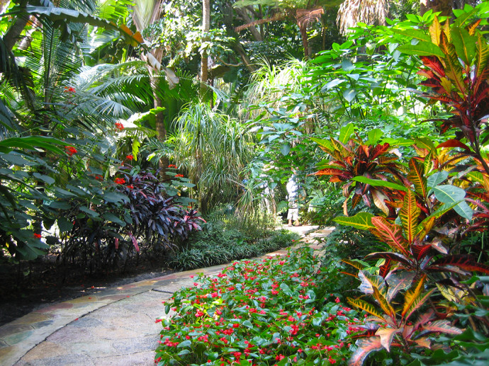 On the winding paths of Sunken Gardens