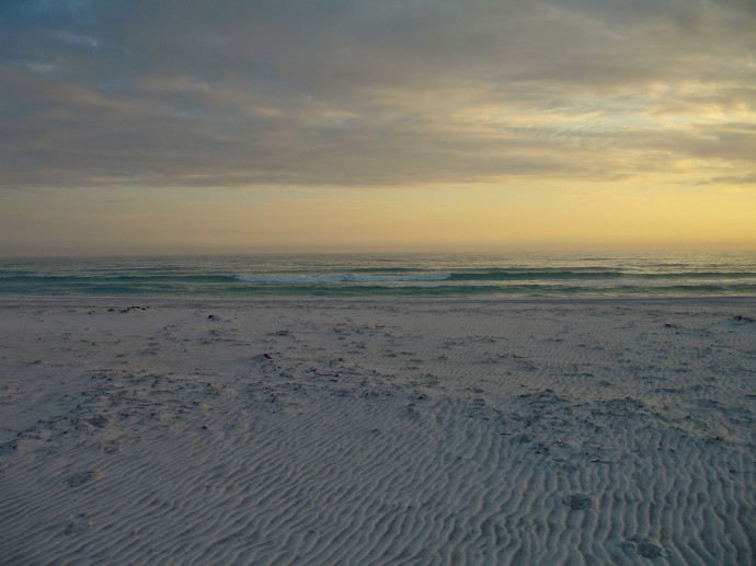 Beach At Topsail Reserve State Park Florida