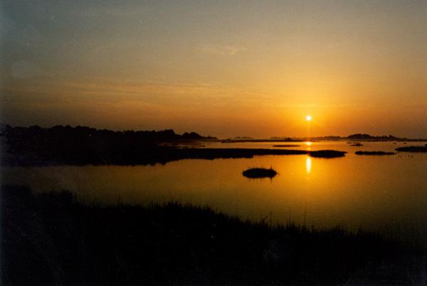 Sunset on Wacasassa Bay (Florida State Parks)