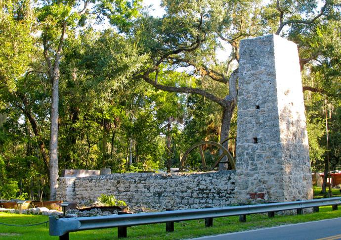 Ruins of the Yulee Sugar Mill
