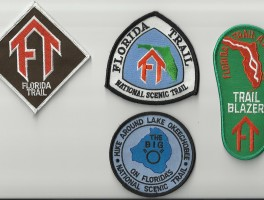 Patches for Florida's Trails
