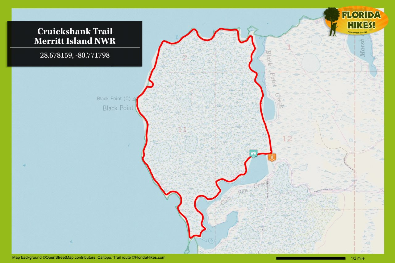 Cruickshank Trail map