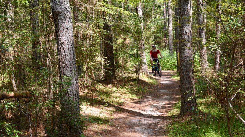 John Keatley Santos biking
