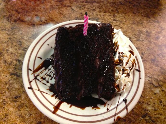 Sandy's birthday cake