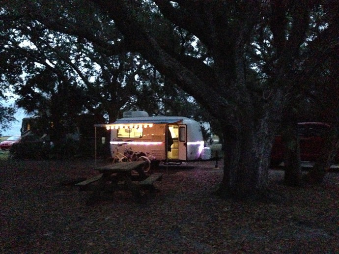 Neighbors in the campground