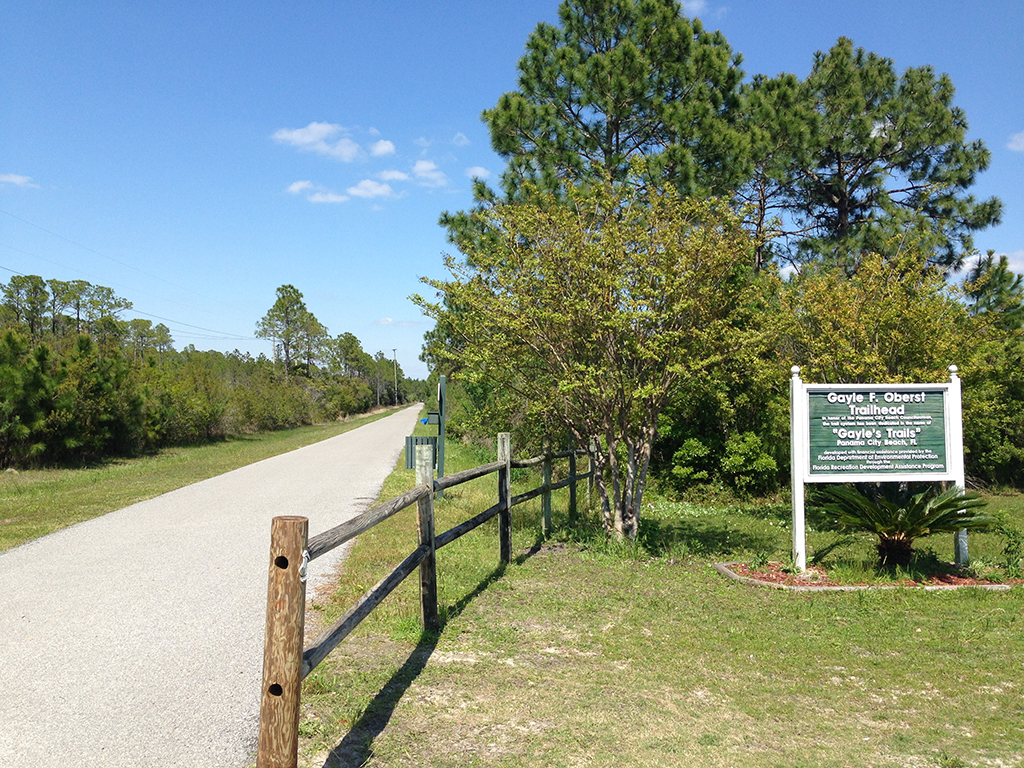 Gayle's Trails at Frank Brown Park trailhead