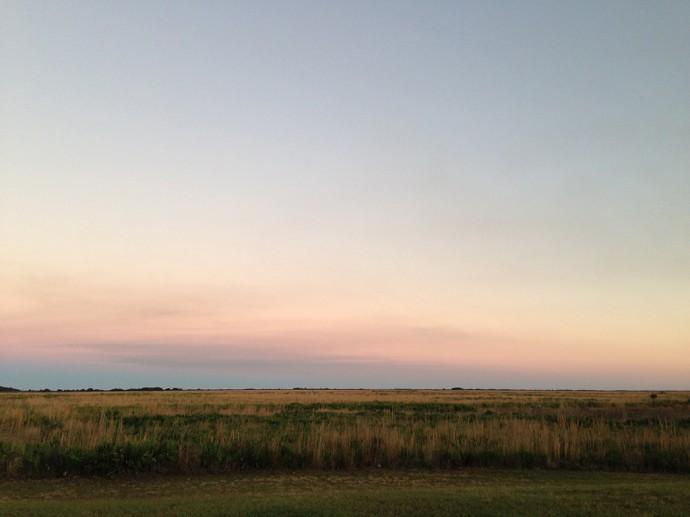 Dusk at Kissimmee Prairie
