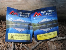 The Mountain House meals we received to test
