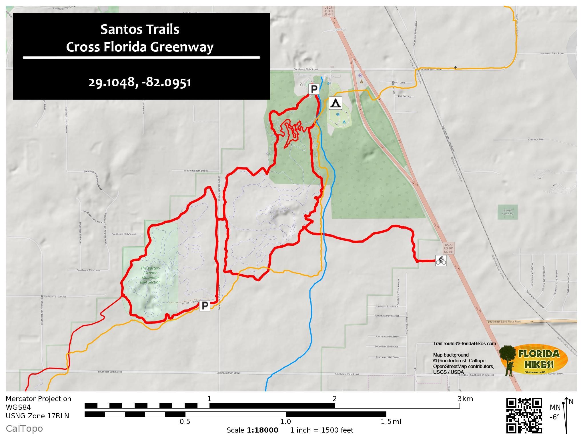 Biking Santos Trails | Florida Trail Cross Florida Greenway ...