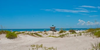 The dunes at Jetty Park