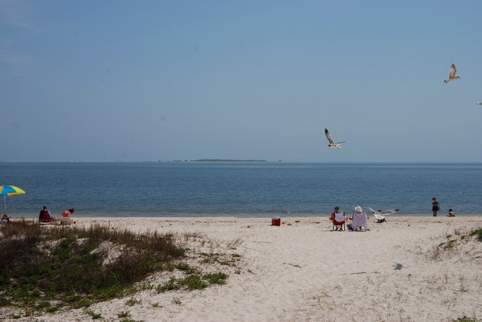 Carrabelle Beach, on the Big Bend Scenic Byway