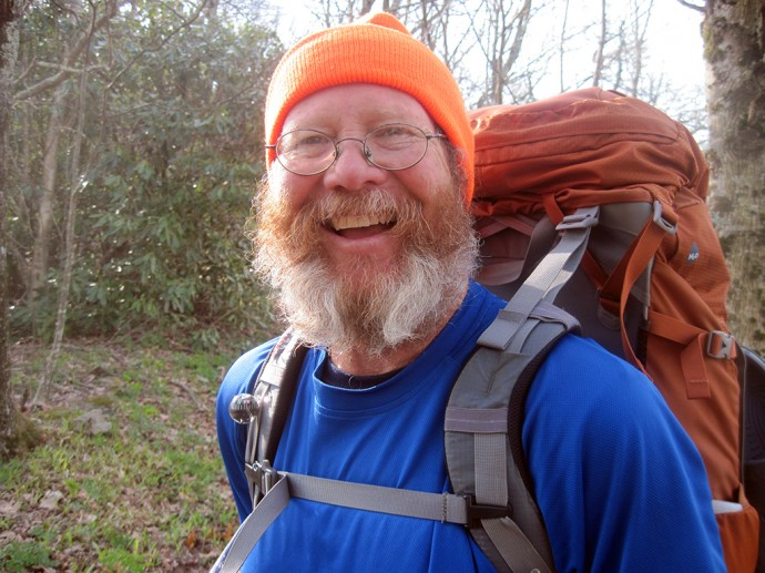 Hiker Trash in training on the Appalachian Trail