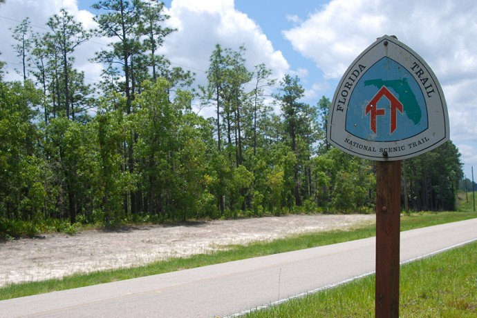 Florida Trail crossing at Jewel