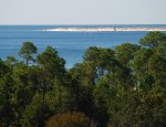 Gulf view at Fort Barrancas