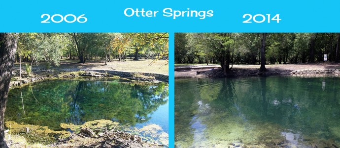 Changes to Otter Springs