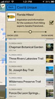 Field Trip app