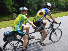 Cyclists take on first Florida Rail to Trail Tour