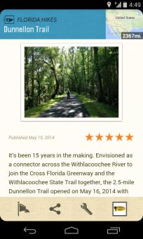 Screenshot for Dunnellon Trail