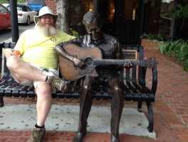 John and Doc Watson in Boone