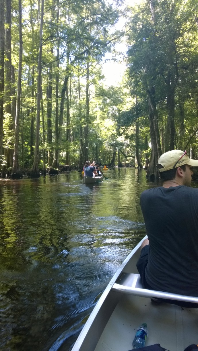 Paddling at Shingle Creek Regional Park