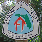 Florida Trail sign