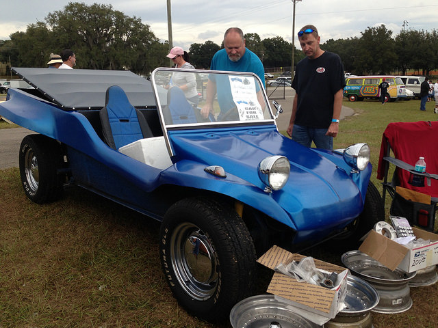 One of the many dune buggies for sale