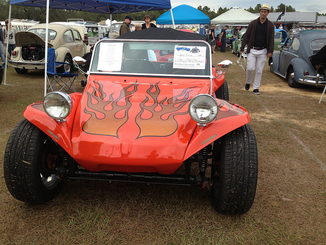 Dune Buggy with attitude