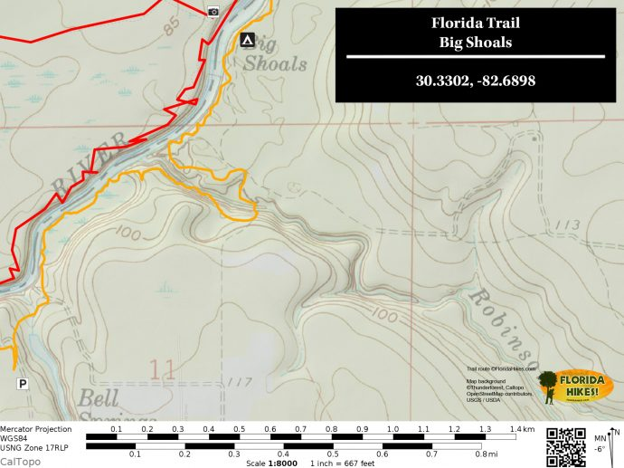 Florida Trail Bell Springs To Big Shoals Florida Hikes