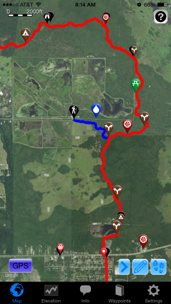 app map view