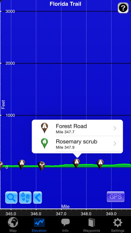 app elevation profile