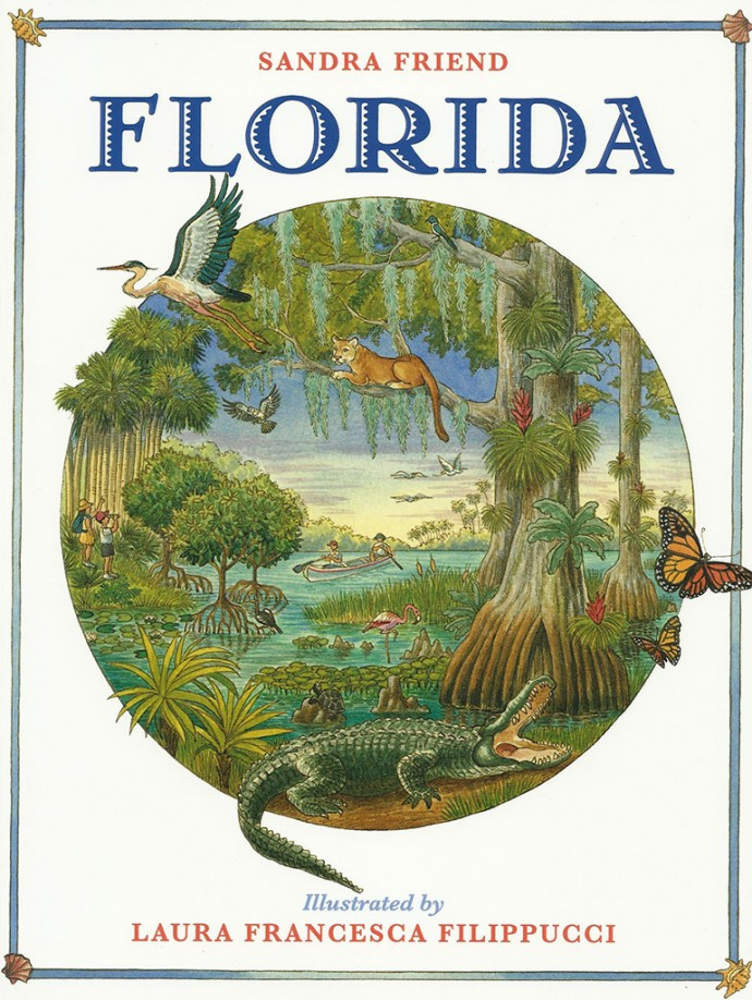 Florida childrens book by Sandra Friend