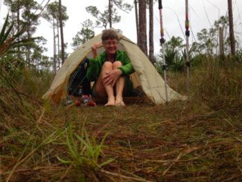 Rainbow on the Florida Trail