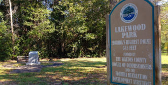 Lakewood Park, Florida's high point