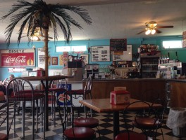 Retro lunch at Carrabelle Junction