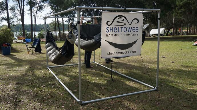 Sheltowee Hammocks on display