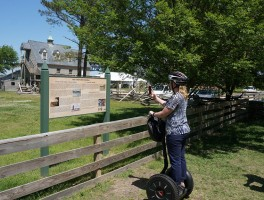 Seeing Yorktown by Segway