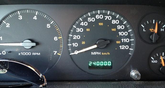 240,000 miles