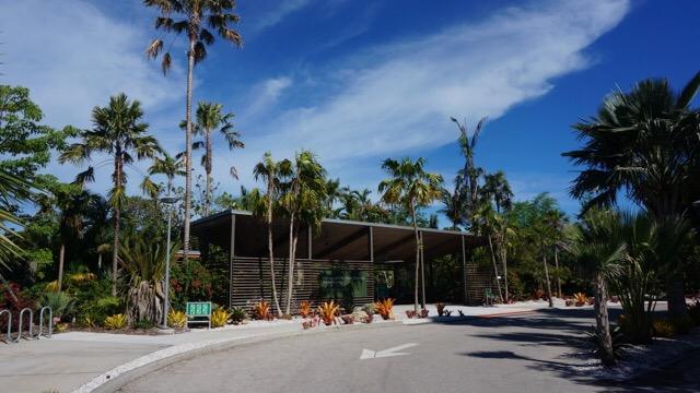 Entrance to Naples Botanical Garden