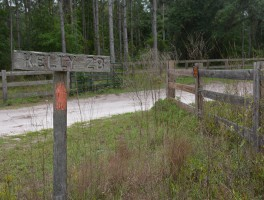 Permanent closure of the Florida Trail between Suwannee and Aucilla Rivers