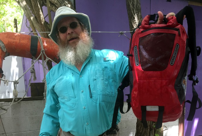 John and the Outdoor Products 20L Amphibian