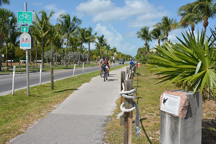 Cyclists on East Coast Greenway
