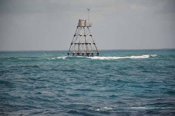 Lighthouse at Molasses Reef