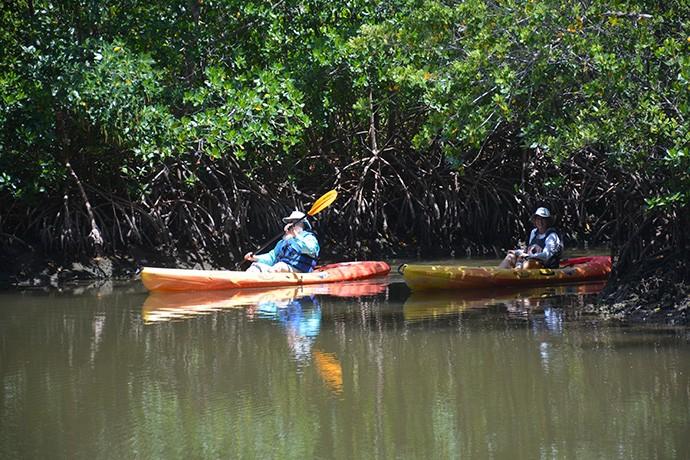 Paddling Oleta River