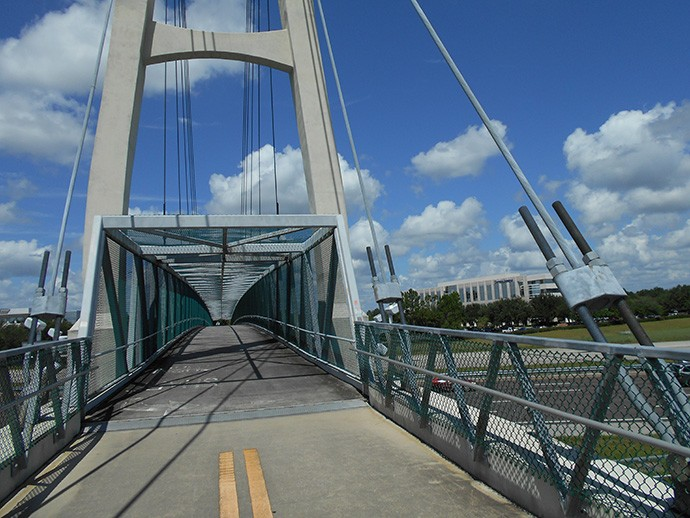 Big bridge over Interstate 4