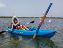 Kayaking Toilet Seat Cut In Islamorada