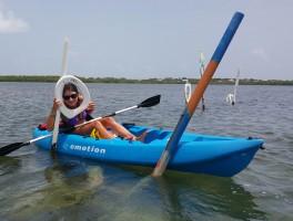 Kayaking Toilet Seat Cut In Islamorada