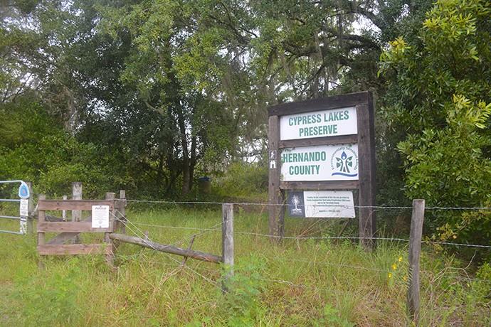 Trailhead on Ridge Manor Blvd
